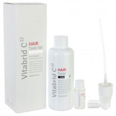 Набор для лечения волос и кожи головы Vitabrid C12 HAIR Tonic Set Scalp Relief, 1 упаковка