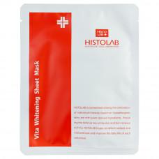 Маска тканевая выравнивающая с витаминным комплексом Histolab Vita Whitening Sheet Mask, 30 г