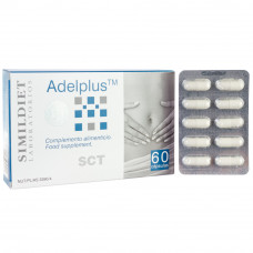 Капсулы для уменьшение аппетита, снижение веса SIMILDIET LABORATORIOS ADELPLUS, 60 капсул