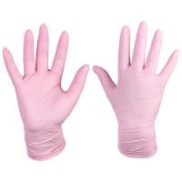 Нитриловые перчатки розовые Medicom SafeTouch Advanced Extend Pink, 1 шт