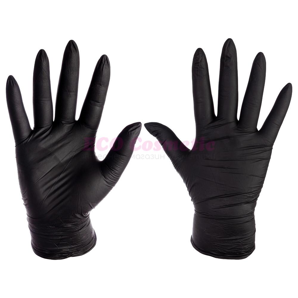 Нитриловые перчатки ЧЕРНЫЕ Medicom SafeTouch, 1 шт