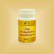 Тальк для депиляции гипоаллергенный Nikol Professional Cosmetics, 50 г