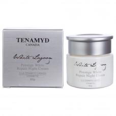 Интенсивно отбеливающий крем TENAMYD Prestige White Repair Night Cream, 60 г