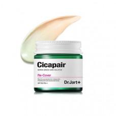 Регенерирующий СС крем-антистресс для коррекции цвета лица DR.JART+ Cicapair Derma Green Solution Re-Cover, 50 мл
