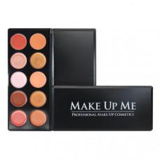 Профессиональная палитра помад для губ 10 цветов Make Up Me L10-1 - L10-1