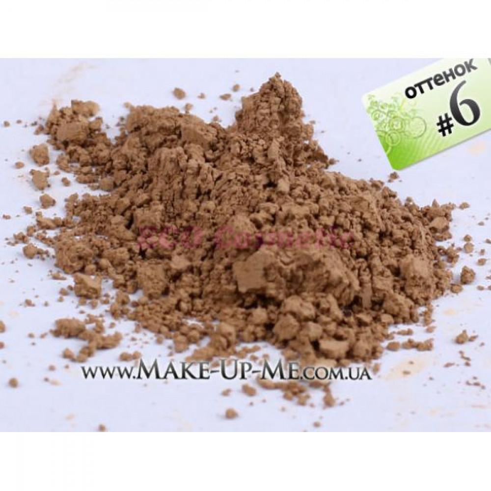 Рассыпчатая минеральная пудра - Make Up Me #6 - LP6