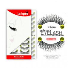 Профессиональный набор ресниц 10 пар - Make Up Me LashPro ML203 - ML203