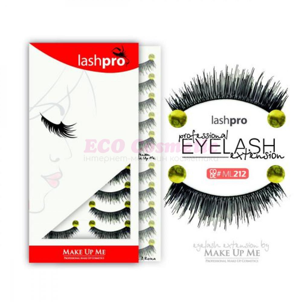 Профессиональный набор ресниц 10 пар - Make Up Me LashPro ML212 - ML212