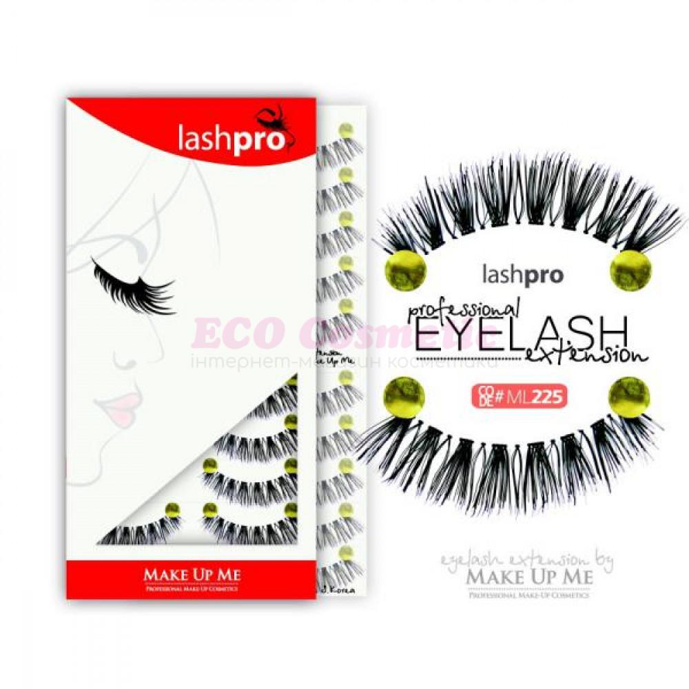 Профессиональный набор ресниц 10 пар - Make Up Me LashPro ML225 - ML225