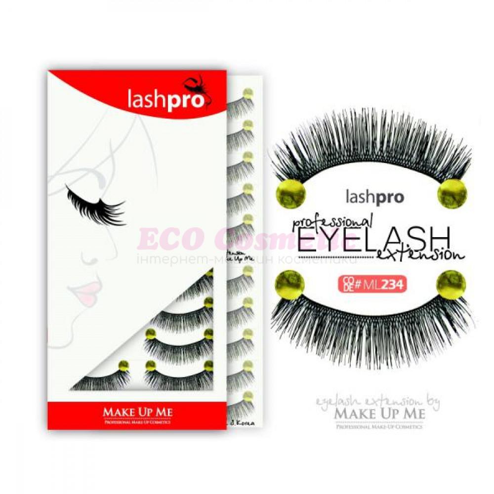 Профессиональный набор ресниц 10 пар - Make Up Me LashPro ML234 - ML234