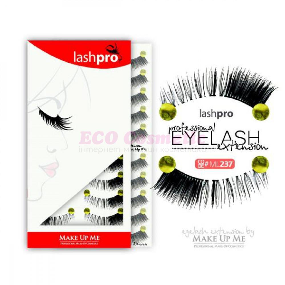 Профессиональный набор ресниц 10 пар - Make Up Me LashPro ML237 - ML237