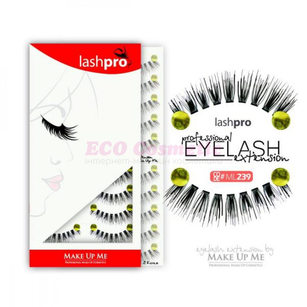 Профессиональный набор ресниц 10 пар - Make Up Me LashPro ML239 - ML239