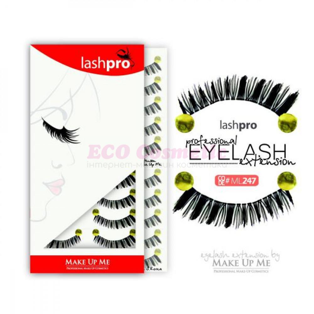 Профессиональный набор ресниц 10 пар - Make Up Me LashPro ML247 - ML247