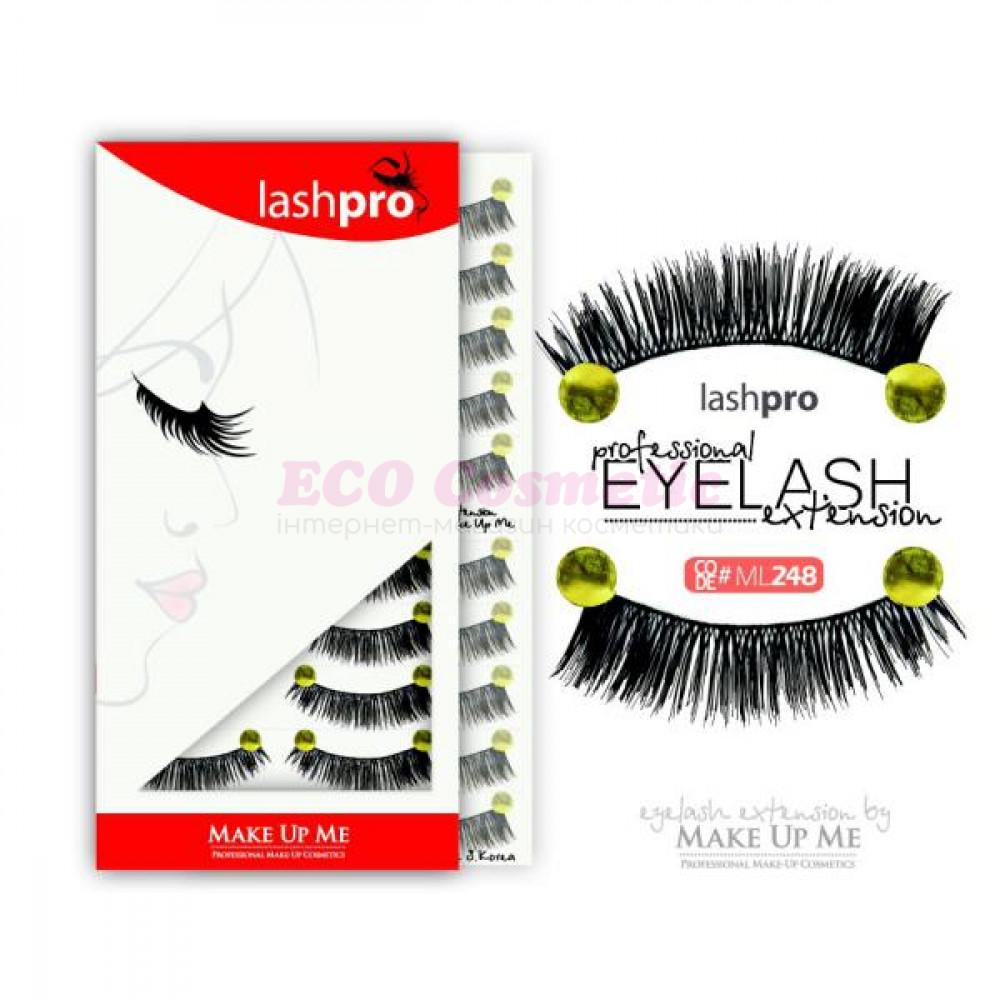 Профессиональный набор ресниц 10 пар - Make Up Me LashPro ML248 - ML248