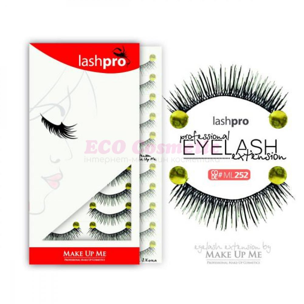 Профессиональный набор ресниц 10 пар - Make Up Me LashPro ML252 - ML252