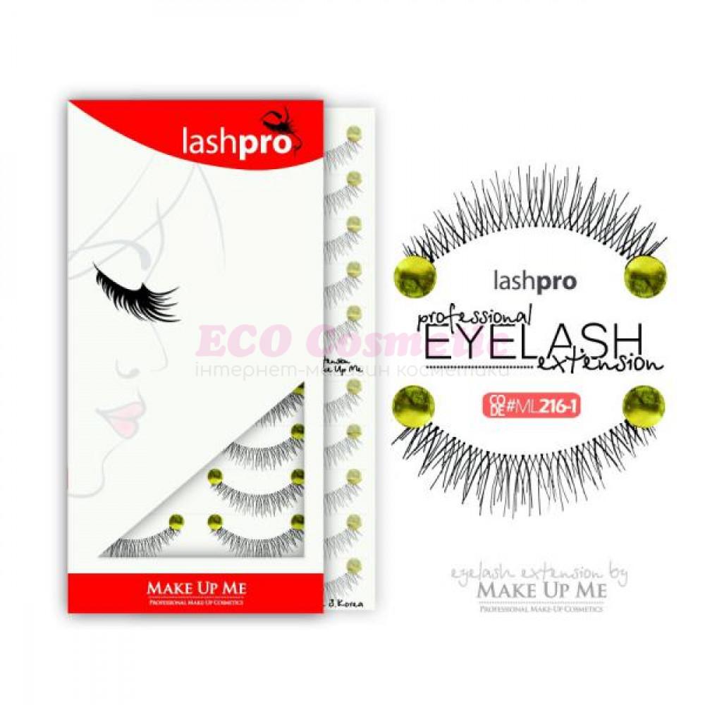 Профессиональный набор ресниц 10 пар - Make Up Me LashPro ML216-1 - ML216-1