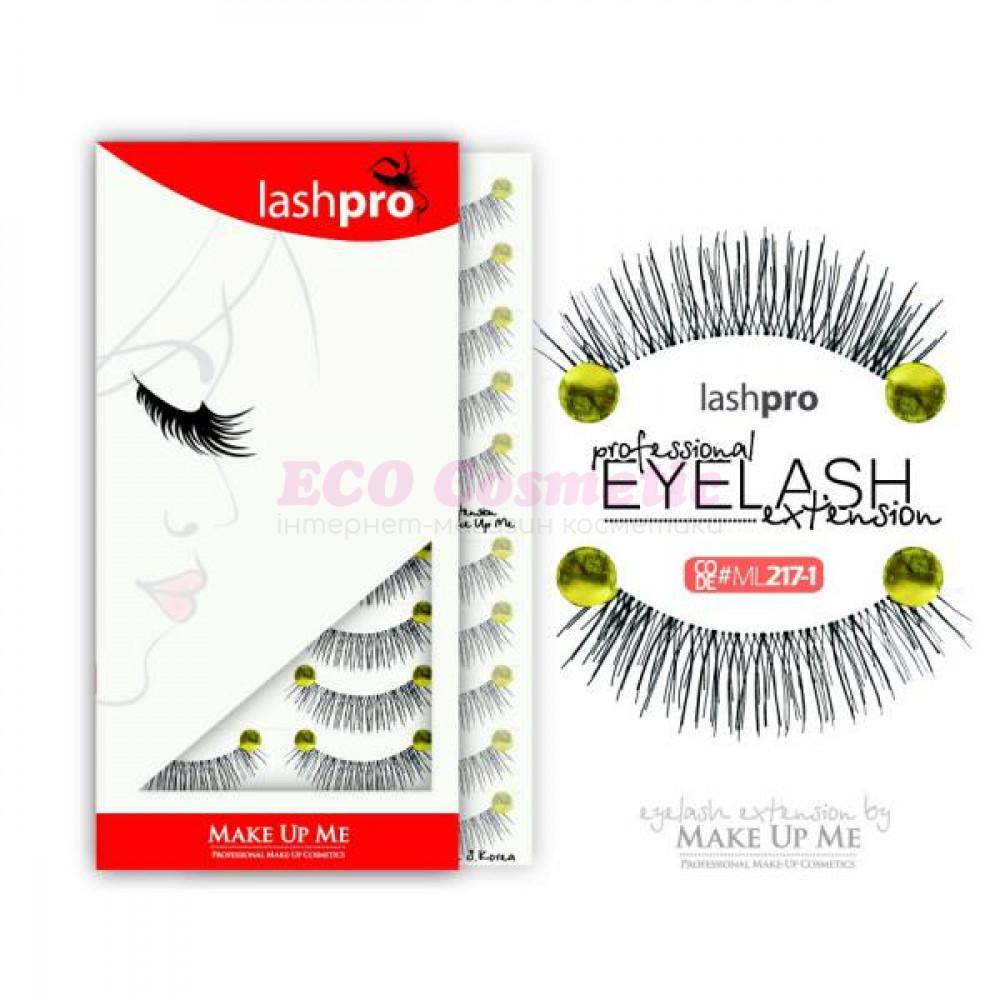 Профессиональный набор ресниц 10 пар - Make Up Me LashPro ML217-1 - ML217-1