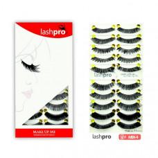 Универсальный набор ресниц 5 видов 10 пар - Make Up Me LashPro MIX-4 - MIX4