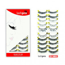 Универсальный набор ресниц 5 видов 10 пар - Make Up Me LashPro MIX-5 - MIX5