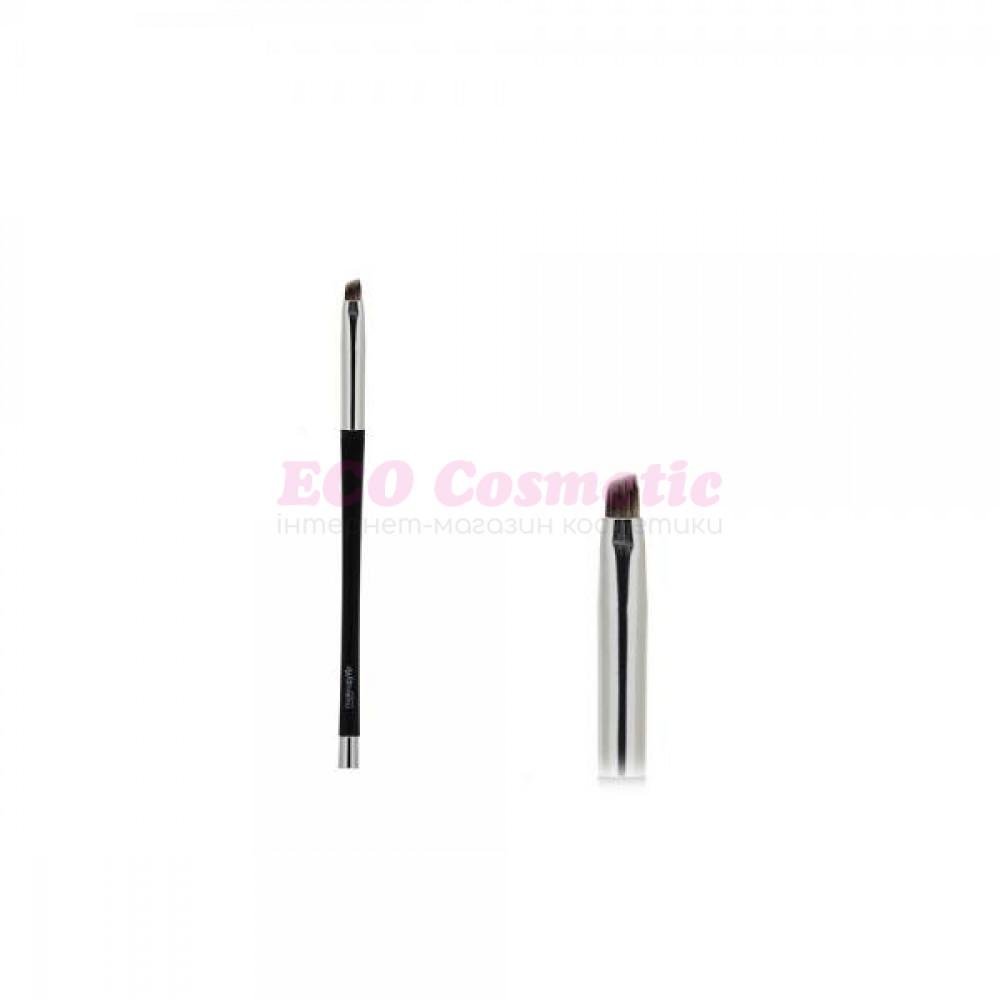 Скошенная кисть для проработки тонких линий, нанесения подводки, проработки бровей - Make Up Me ММК012 - MMK012