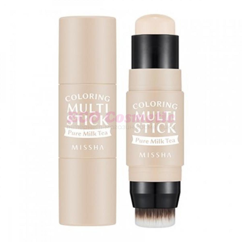 Румяна-стик - MISSHA Coloring Multi Stick (BE01/Pure Milk Tea) - M6496