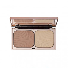 Мини-палетка для контуринга лица CHARLOTTE TILBURY Mini Filmstar Bronze And Glow Fair/Medium, 7 г
