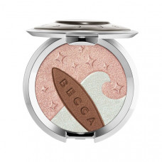 Жемчужный хайлайтер-бронзер BECCA Shimmering Skin Perfector Pressed Highlighter And Sunlit Bronzer Ocean Glow, 7 г
