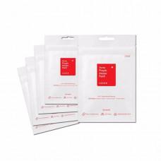 Гидроколлоидные пластыри для быстрого точечного удаления акне COSRX Acne Pimple Master Patch, 1 упаковка