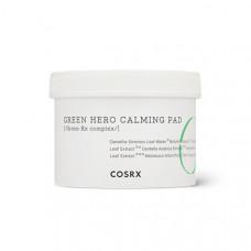 Успокаивающие пилинг-пады для лица COSRX One Step Green Hero Calming Pad, 70 шт