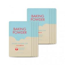 Пенка для глубокого очищения пор и снятия стойкого макияжа ETUDE HOUSE Baking Powder BB Deep Cleansing Foam тестер, 4 мл