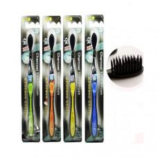 Зубная щетка с угольным напылением на щетинках Dr. LUSSO Charcoal Toothbrush, 1 шт