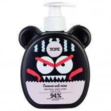 Натуральное детское мыло для рук Кокос и Мята YOPE Natural Hand Soap for Kids Coconut & Mint, 400 мл