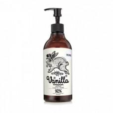 Натуральное увлажняющее мыло для рук Ваниль и Корица YOPE Natural Hand Wash Liquid Soap Vanilla & Cinnamon, 500 мл