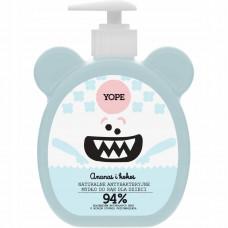 Антибактериальное детское мыло для рук Ананас и Кокос YOPE Antibacterial Hand Wash for Kids Pinneapple & Coconut, 400 мл