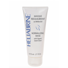 Успокаивающая маска HELIABRINE NORMALISING MASK with Cotton milk BIO SWEET CLOVER, 75 мл