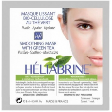 Биоцеллюлозная противовоспалительная маска HELIABRINE SMOOTHING MASK WITH GREEN MASK, 8 мл