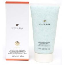 Мягкий крем-пилинг для нормальной и комбинированной кожи SUNDARI Sandalwood Cleanser for Normal/Combination Skin, 180 мл