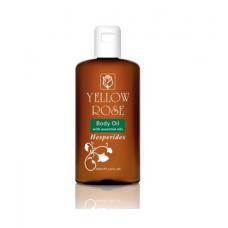 Массажное масло с цитрусовыми эфирными маслами Yellow Rose Body massage oil with hesperides, 200 мл
